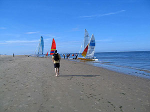 Insel Texel Katamaranstrand