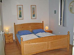 Ferienhaus in Texel Ferienpark de Krim Schlafzimmer unten